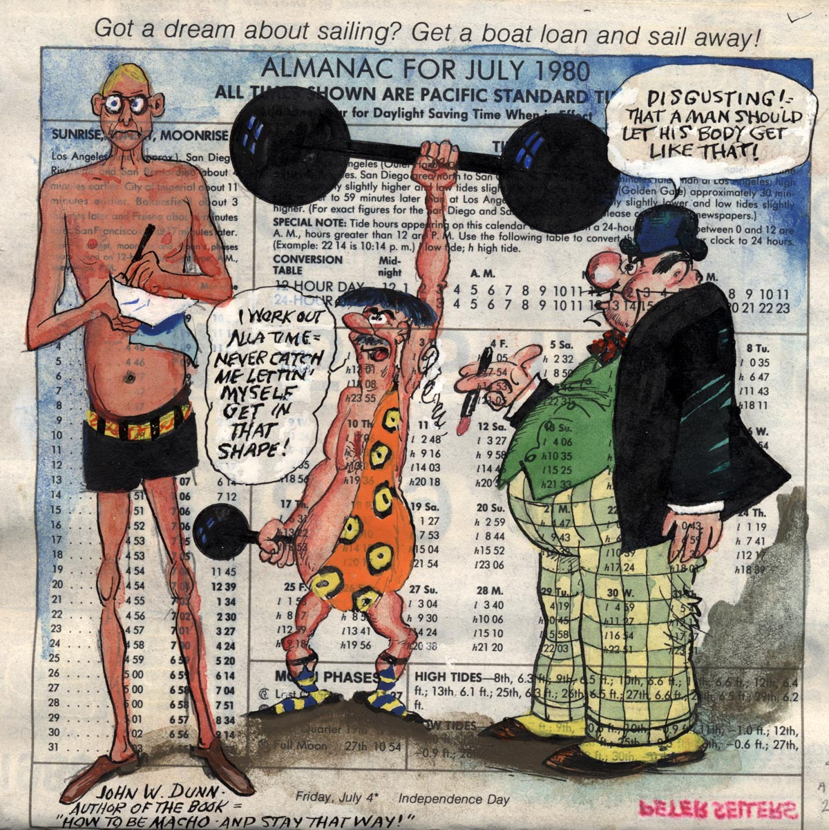 John Dunn Calendar Art