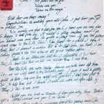 William Emmons Letter About Working at Disney