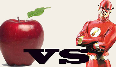 Flash versus Apple