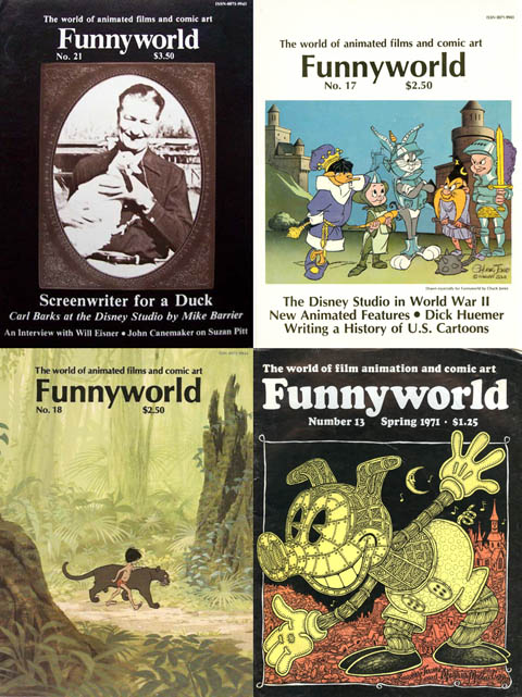 Issues of Funnyworld