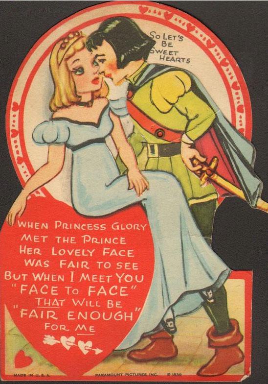 Fleischer Gullivers Travels Valentine Cards