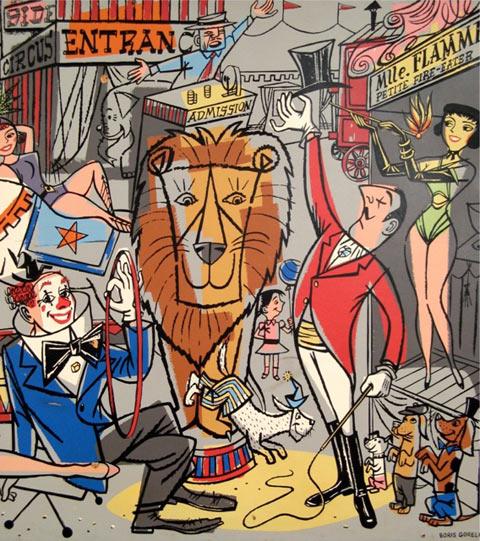Boris Gorelick mural
