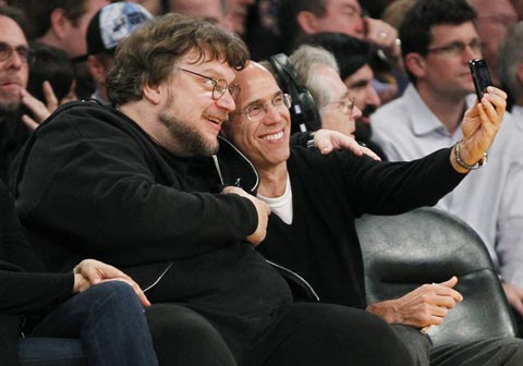 Guillermo del Toro and Jeffrey Katzenberg