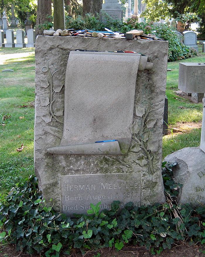 Herman Melville's Tombstone