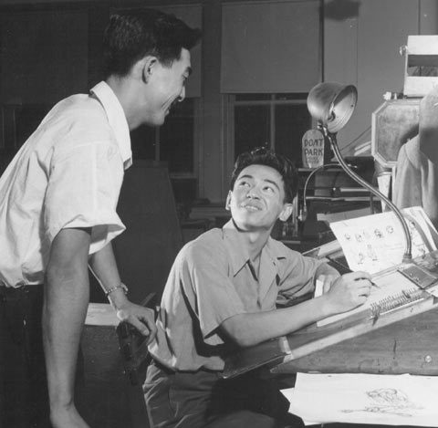 Tom Inada and James Tanaka