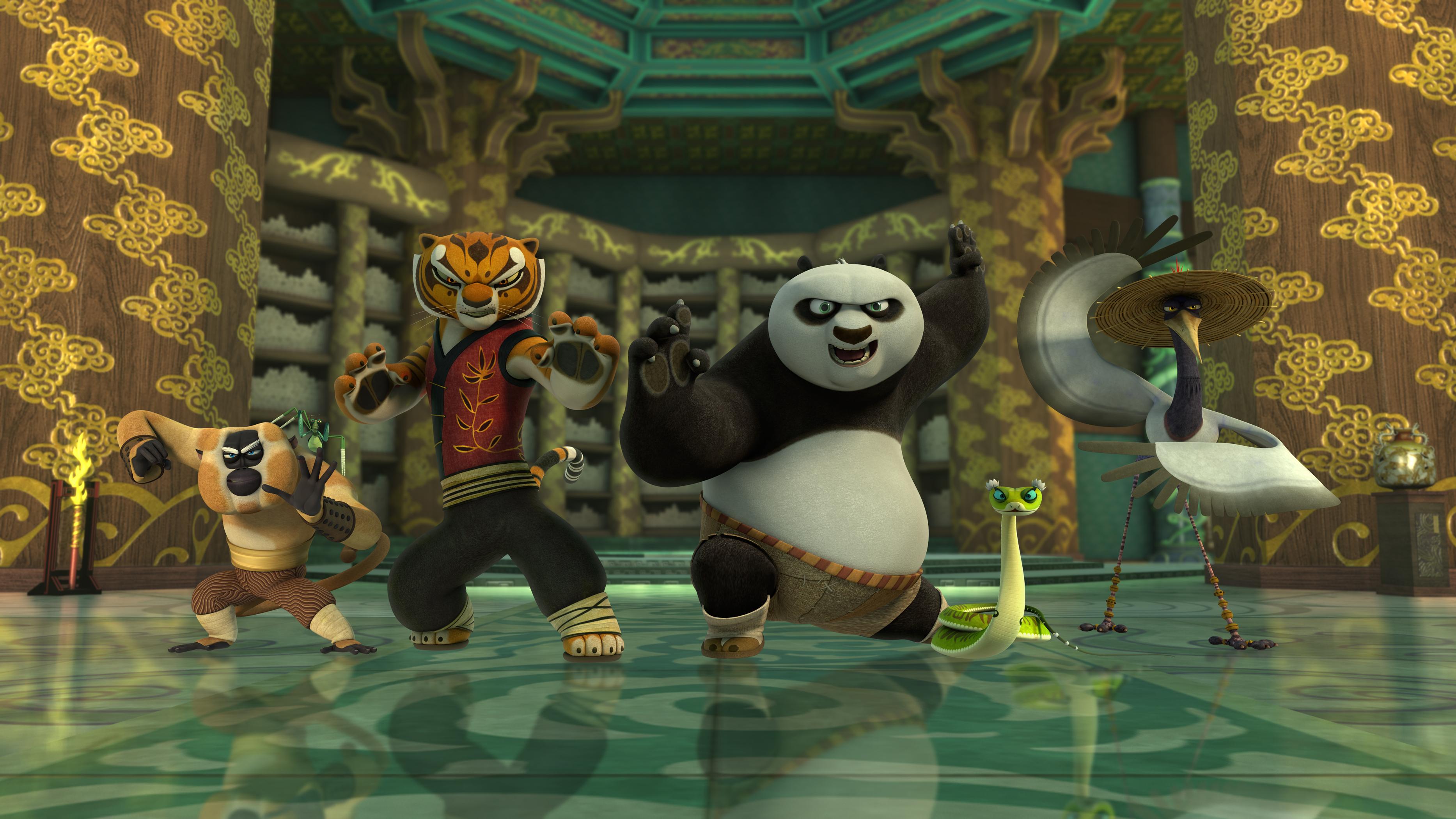 kung fu panda legends of awesomeness to premiere november 7