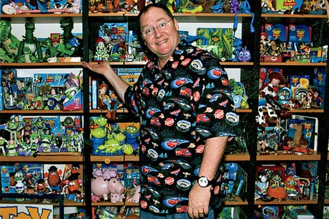 John Lasseter Applause