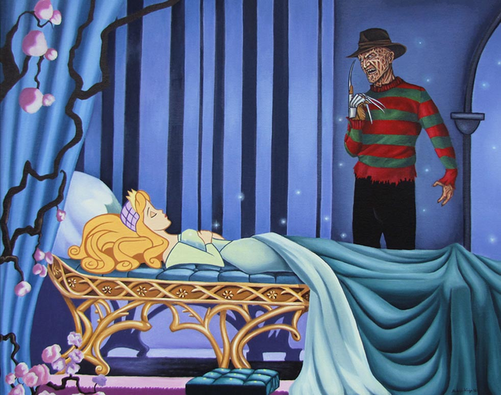 Adult art disney