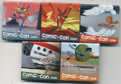 Comic Con Followup: Looney Tunes Buttons