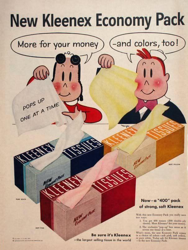Cool Vintage Cartoon Ads