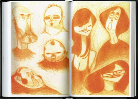 Nico Marlet Sketchbook