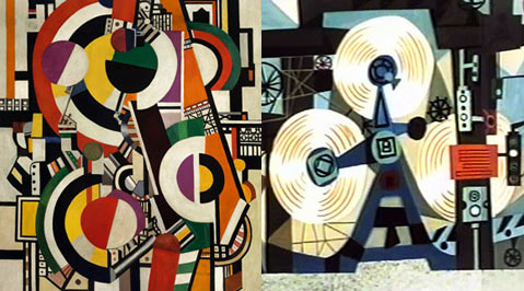 Robert McIntosh and Fernand Leger