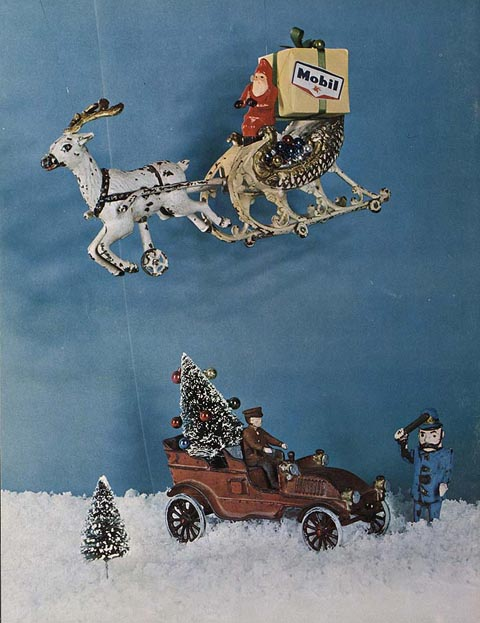 Mobil Ad by Ward Kimball