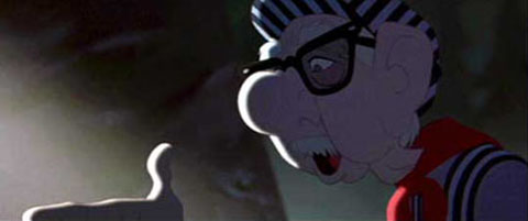 Ollie Johnston in The Iron Giant