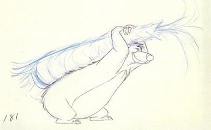 Ollie Johnston drawing