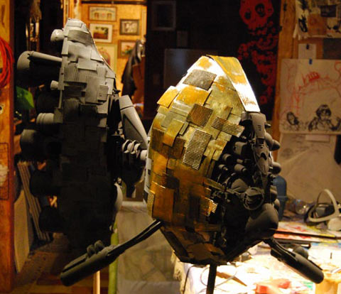 Joe Orrantia sculpture