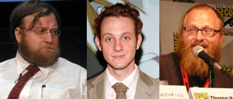 Pen Ward, Aaron Augenblick and Thurop van Orman