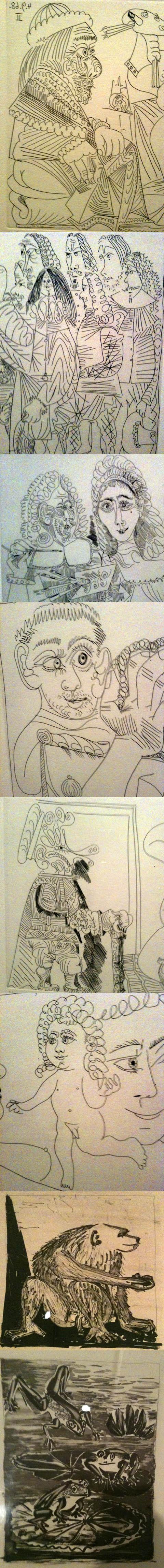 Picasso cartoons
