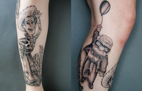 Pixar Tattoos
