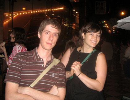 Guilherme Marcondes and Miwa Matreyek