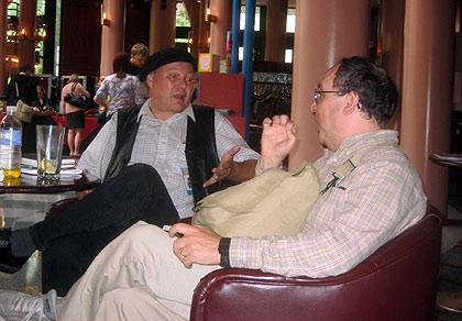 Gunnar Strom and Steve Segal