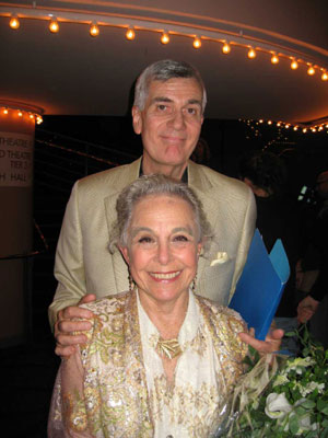John Canemaker and Marge Champion