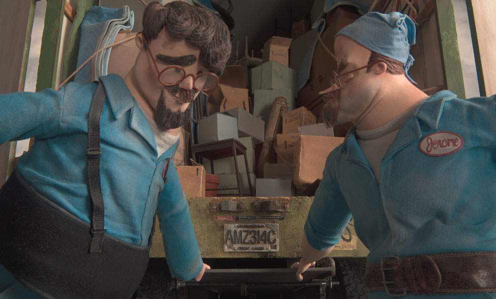 The Ranft Bros. in <em>Coraline</em>
