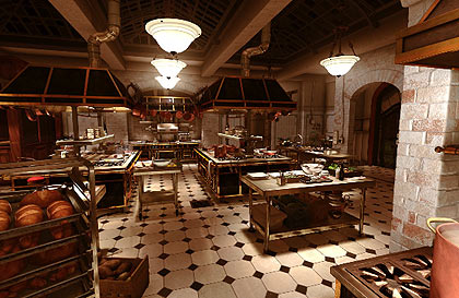 Ratatouille virtual sets