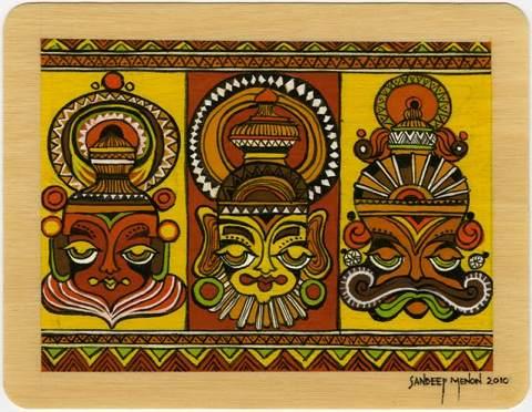 Sandeep Menon card