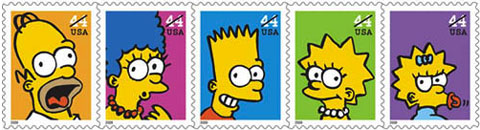 simpsonstamps