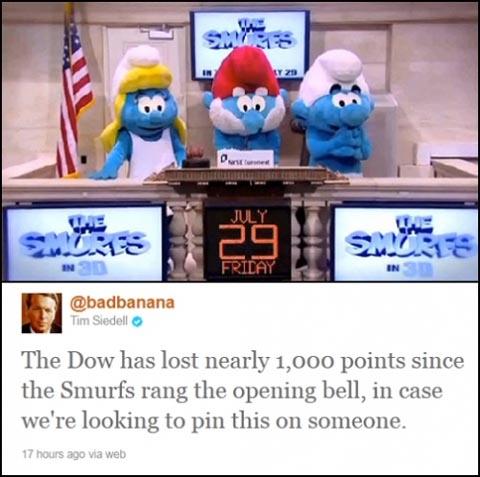 Smurf Bell Ringers