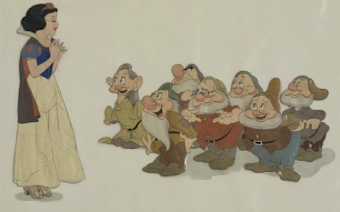 Snow White cel