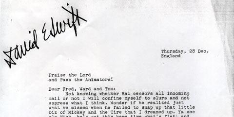 David Swift Letter