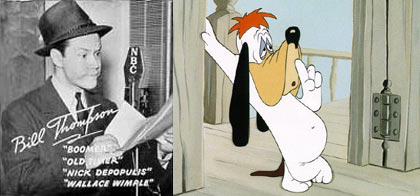 Bill Thompson and Droopy