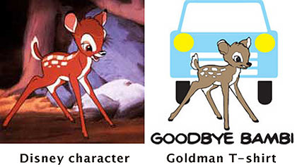 Todd Goldman and Disney artwork