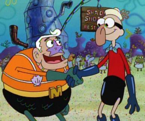 nickelodeon honors the late ernest borgnine with a two hour spongebob squarepants marathon featuring the actor as mermaid man from 200 pm 400 pm - Spongbob 2