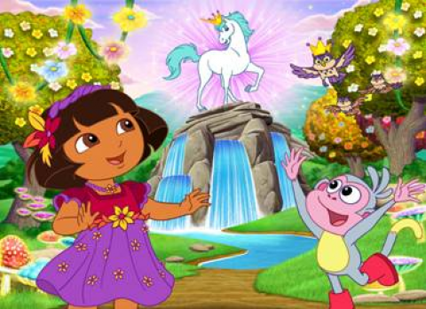 nickelodeon presents dora s enchanted forest adventures trilogy