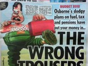 "The Wrong Trousers ""Sun"" cover"