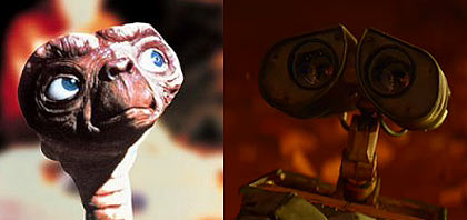 Wall E and ET