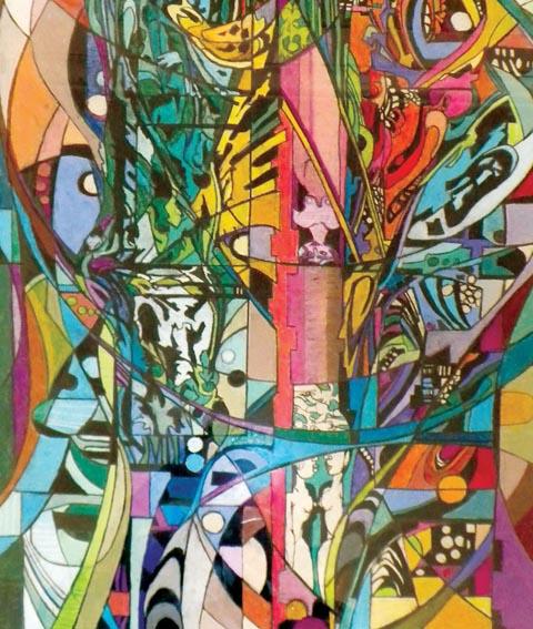 Walt Peregoy painting