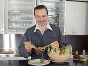 Walt Disney and Salad
