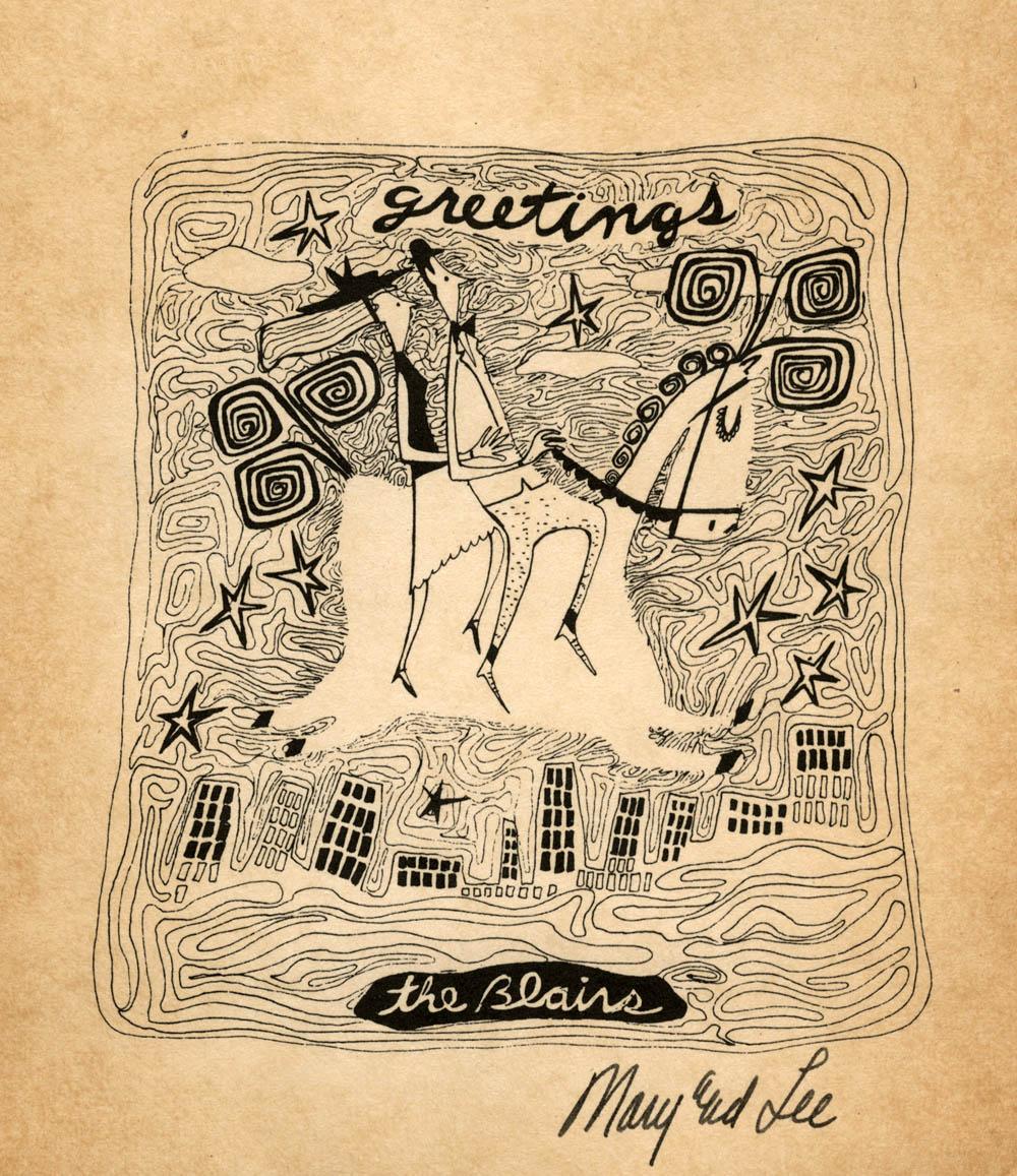 A Mary Blair Christmas Card