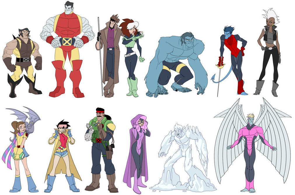 if the x men became a disney feature