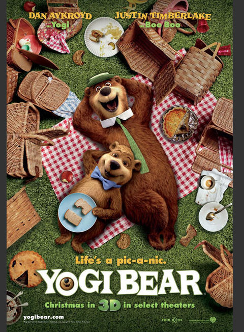 Yogi Bear Movie Poster Controversy Yogi Bear movie poster
